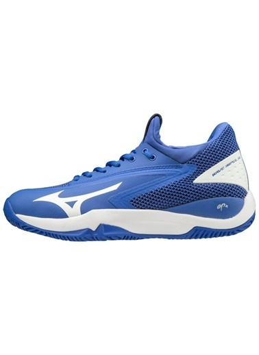 Mizuno Wave Impulse CC Unisex Tenis Ayakkabısı Mavi Mavi